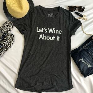 Modern Lux tee T-Shirt L wine about it A10